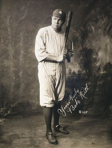 Babe Ruth left St. Mary's and became a legend.