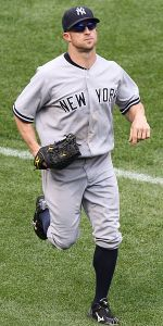 Brett Gardner hit the 15,000th home run in Yankee history Sunday.
