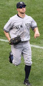 Brett Gardner hit the 15,000th home run in Yankee history Sunday.