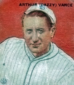 Dazzy Vance won 197 games in his career, mostly with the Dodgers.