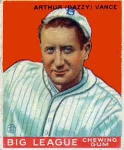 Dazzy Vance enjoyed his big years with the Dodgers, but he made his lone postseason appearance with the Cardinals.