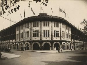"""Some people called Forbes Field """"Dreyfuss's folly"""" because it was a 10-minute trolley ride from downtown Pittsburgh."""