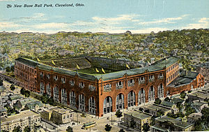 League Park opened in Cleveland in 1891.