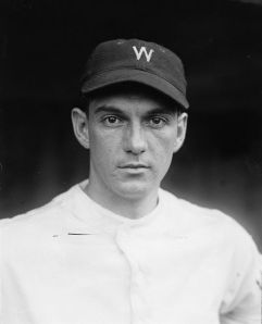 Muddy Ruel scored the winning run for the Senators in Game 7 of the 1924 World Series.