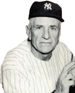 Casey managed 10 pennant winners with the Yankees and seven World Series champions.