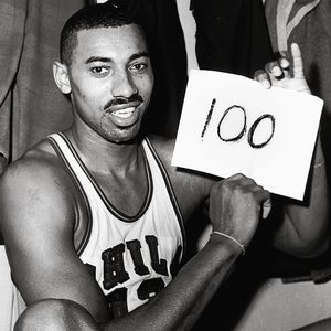 Wilt Chamberlain hit the century mark 53 years ago tonight.