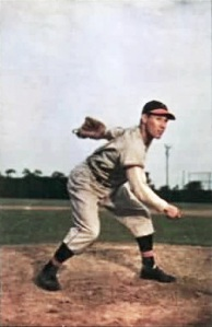 Bob Feller won 266 games in his 18-year career, all with the Cleveland Indians.