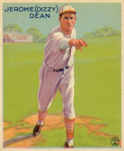 Dizzy Dean was just rookie in 1932, but already one of  baseball's top pitchers.