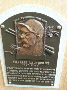 Old Hoss Radbourn, winner of 59 games in 1884.