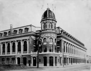 Dig the French Renaissance architecture at Shibe Park in Philadelphia.