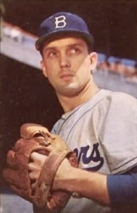 Carl Erskine won 122 games in his Dodger career.