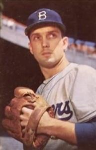 Carl Erskine won 122 games in his Dodger career.