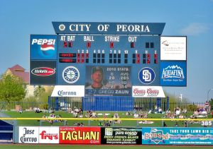 The Cactus League in Arizona is a $300 million a year business, according to newspaper reports.