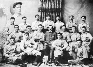 Introducing, your 1896 Baltimore Orioles.