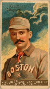 "Michael ""King"" Kelly played with the Beaneaters for three seasons."