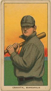 """Gavvy"" Cravath led the N.L. in home runs six times as one of the Deadball era's top sluggers."