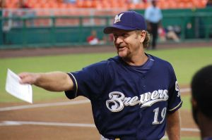 Scott Adelman photo/Robin Yount spent his entire Hall of Fame career as a Milwaukee Brewer.