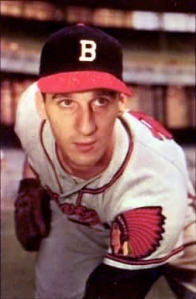 The great lefty Warren Spahn was already a five-time All-Star and four-time 20-game winner in  Boston by time he moved on to Atlanta.