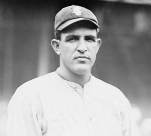 Left-hander Hippo Vaughn was a five-time 20-game winner for the Chicago Cubs.