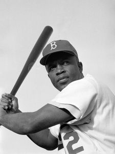 Jackie Robinson was the N.L. Rookie of the Year in 1947.