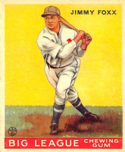 Allen's tattered sleeves didn't bother Jimmie Foxx.