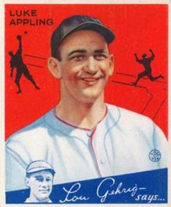 Luke Appling twice finished runner-up in the A.L. MVP voting.