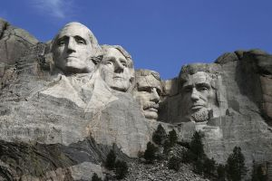 Dean Franklin photo/Sculpting began on Mount Rushmore in 1927 and ended in 1941.