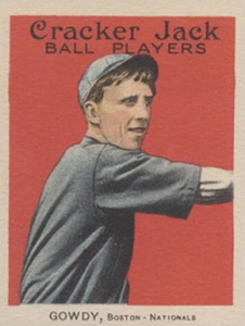 Vintage Card Press photo/Hank Gowdy batted .270 and was the first Major League to enlist in World War I.