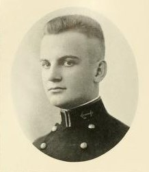 """Nemo"" Gaines graduated from the U.S. Naval Academy in 1921."
