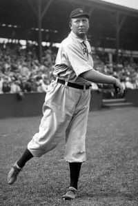 Cy Young threw the first perfect game of the modern era, May 5, 1904.