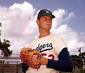 Source/Don Drysdale won 209 games in his career and hit 154 batters.