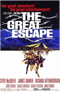 The Great Escape opened in the U.S. on this date in 1963. Happy 52nd birthday!