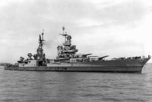 Commissioned Nov. 7, 1931, the U.S.S. Indianapolis earned 10 battle stars before being sunk by Japanese torpedoes on July 30, 1945.