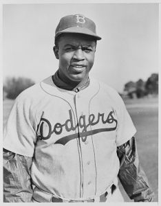 Jackie Robinson stole home 19 times in his career. He did it once in Game 1 of the 1955 World Series.