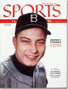 Johnny Podres - Sportsman of the Year January 2, 1956 X 3298 credit: Richard Meek - staff