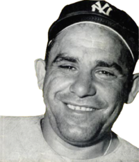 Yogi Berra knocked in a team-high 109 runs for the 1955 Yankees.