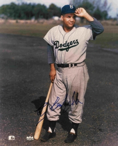 Roy Campanella slammed a fourth-inning solo shot for Brooklyn.