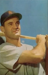 Walt Dropo enjoyed his best season with the Boston Red Sox in 1950. He later played for the Detroit Tigers and other teams.