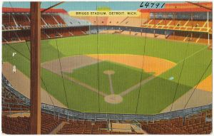 Tiger Stadium went by Briggs Stadium from 1935 to 1961.