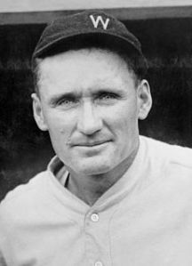 Washington Senators great Walter Johnson was one of five players who made up the Hall of Fame's first class.