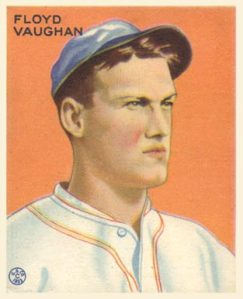 Arky Vaughn batted .385 in 1935.