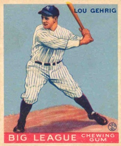 Lou Gehrig, as he did most seasons, brought 'em home in 1927.