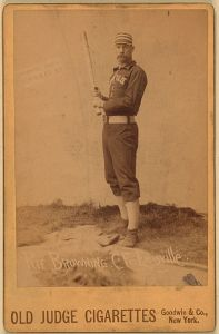 Pete Browning, the first Louisville Slugger.