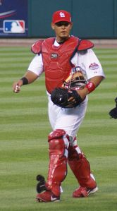 Yadier Molina has won eight Gold Gloves and been named to seven N.L. All-Star teams.