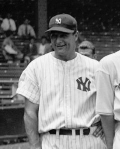 Lou Gehrig starred at the High School of Commerce in New York City before becoming a great Yankee first baseman,