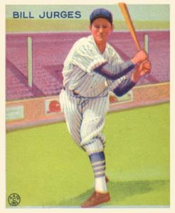 Billy Jurges spent 17 seasons in the majors, with the Cubs and Giants.