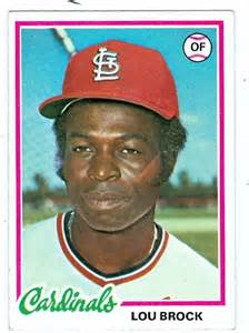 The Cardinals' Lou Brock stole a record 118 bases in 1974.