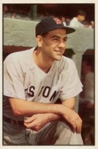 Most famous as a player-manager for the Cleveland Indians, Lou Boudreau led the Boston Red Sox from1952-54.